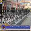 Elegant Wrought Iron Hand-Forged Fence
