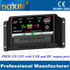 PWM 10A Solar Charge Controller with LED USB&DC