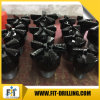"Water Well Drilling Customized 9 3/8"""" Steel Body 3 Wings PDC Drill Bit"