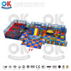 Multicolors Luxury Daycare Effective Bright Color Indoor Playground Trampoline Park