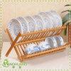 Foldable Kitchen Bamboo Dish Rack