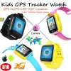 Multi-Languages 3G WCDMA Kids GPS Tracking Watch with Remote Rotation Camera