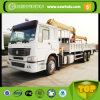 8 Tons Brand New Telescopic Boom Truck Mounted Crane