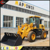 China Map Power Wheel Loader with Pallet Fork Zl16f