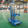 Single Mast Aluminum Alloy Lift/Aerial Work Platform