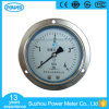 100mm Commercial Type Chrome Plated Case Back Type Liquid Filled Pressure Gauge