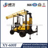 Xy-600f Groundwater Trailer Mounted Water Well Borehole Drilling Price