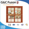 Double Tempered Laminate Glass Aluminium Sliding Doors