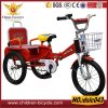 2016 High Quality New Design Cheaper Double Seats Child Tricycle