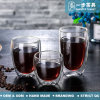 Heat Resistant Reusable Glass Coffee Cup