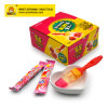 Strawberry Flavor Brush Shape Individual Packing Lollipop
