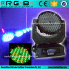 High Power 108X3w RGBW LED Moving Head Wash Light for Indoor Stage