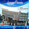 China Factory 3 Axles 20-40cbm Tractor Hydraulic Cylinder Dump Trailer, Tipping Trailer, Tipper Trailer for Sale