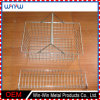 Shopping Cart Storage Galvanized Stainless Steel Wire Mesh Basket