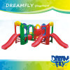 Outdoor Plastic Playground Toy Slide for Children