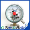 Vacuum Shock Resistant Electric Contact Pressure Gauge with Ce