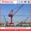 Rail Mounted Mobile Jib Harbour Portal Crane