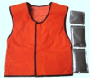 PCM Phase Change Material Cooling Vest for Outside Working Safety Clothing