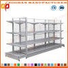 Double Sides Wire Back Supermarket Display Stand Shelf (ZHs645)