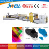 Jwell -TPU Film Making Machine Extrusoin Plastic Recycling Machinery Used in Field of Shoe Clothes Sport Equipment and Car Seat Material