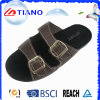 Latest Popular PU Side Man Outdoor Slipper (TNK24937)