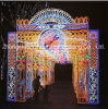 LED Colorful Castle Lights for Holidaydecor Illumination