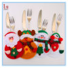 Christmas for Fork Knife Cutlery Bag Table Decoration