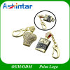 Luxury Crystal French Perfume USB Pendrive Jewelry Memory Stick