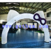Advertising Inflatable Decorative Arches/Inflatable Entrance Arch HD Printing Front
