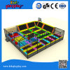Large Multi-Functional Indoor Trampoline with Basketball Ball Pool Foam Pit
