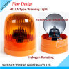 New Design Hella Type Warning Light /12V 24V Hella Rotating Warning Light for Forklift and Machine Use (TBL 38115)