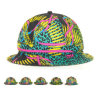 Fashion Casual Colorful Polyester Bucket Hat