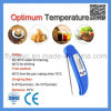 Digital Food Thermometer with Collapsible Probe Meat Thermometer for Cooking Kitchen BBQ Thermometer Blue