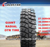 Giant Radial OTR Tire Wheel Loader Tire 27.00r49, 30.00r51, 33.00r51
