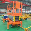 500kg 6-18m Factory Direct Sale Manual Hydraulic Mobile Scissor Lift Platform with Ce ISO Certification
