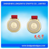Slippy Surface Embossed Logo Sport Medal with Ribbon