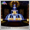 Holiday Decorations LED 3D Motif Artificial Christmas Fountain Lights