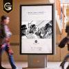 Outdoor Advertising Freestanding LED Light Box for Shopping Mall