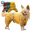 Dog Raincoat Pet Rain Waterproof Vest with Sleeves Hook Reflective Safety Rain Wear