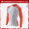 Orange White Fashion Long Sleeves Rash Guards (ELTRGI-9)