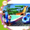 Aqua Park Suppliers Water Slide with Pool Kids Water Play Equipment