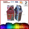 Christmas Tin House Candle Metal Tin Box