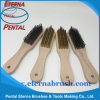 Golden & Carbon Steel Brush for cleaning Rust