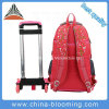 Kids Book Back to School Backpack Wheel Trolley Luggage Bag