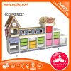 Children 3-Level Storage Cabinet School Cabinet