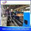 Multi-Function Square Tube Round Pipe CNC Plasma/Flame Cutting Beveling Industrial Machine