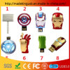 Wholesale Personality Metal Marvel Iron Man Captain America Shield Raytheon Hammer USB Stick