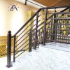 Custom Made Powder Coating Aluminum Fence Handrail for Stair