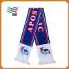 Custom Long Jacquard Scarf for Football Fans