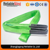 Double Ply Flat Polyester Webbing Sling with Lifting Eyes